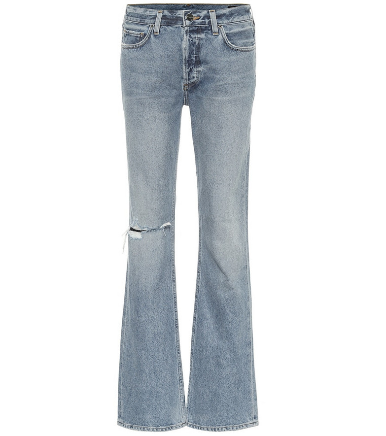 Goldsign The Nineties Boot high-rise jeans in blue