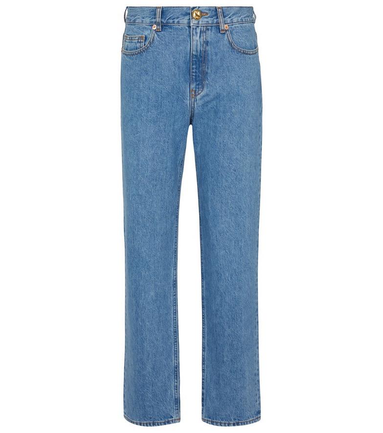 Blazé Milano Nariida Maya Paso high-rise bootcut jeans in blue