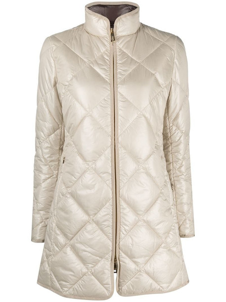 Fay padded jacket in neutrals