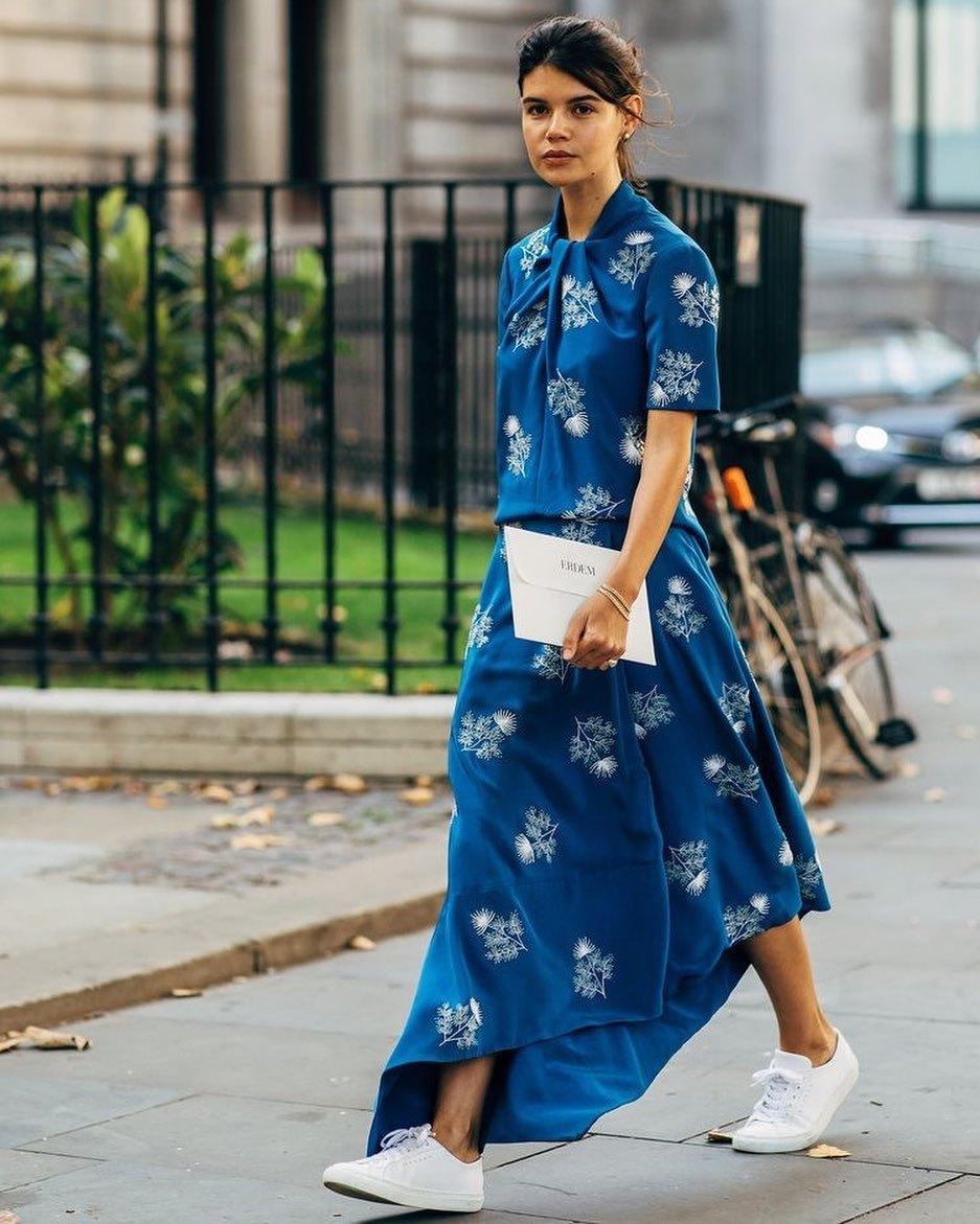 shoes white sneakers asymmetrical skirt short sleeve dress