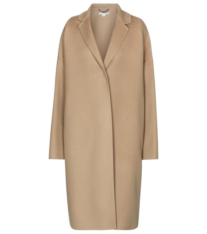 Stella McCartney Wool coat in beige
