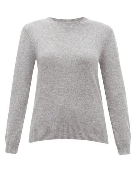 Derek Rose - Finley Cashmere Sweater - Womens - Silver