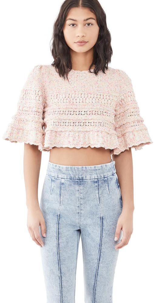 Isabel Marant Friz Sweater in pink