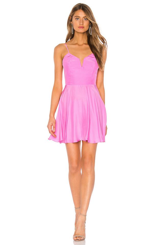 Amanda Uprichard Clement Dress in pink