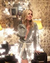 dress,silver,metallic,nicky hilton,instagram,new year dresses