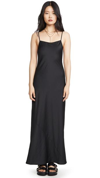 alexanderwang.t Wash & Go Maxi Dress in black