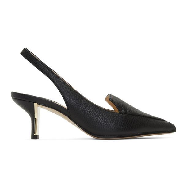 Nicholas Kirkwood Black Beya Slingback Heels