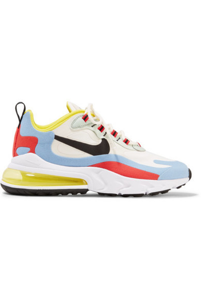 Nike - Air Max 270 React Felt And Ripstop Sneakers - Beige