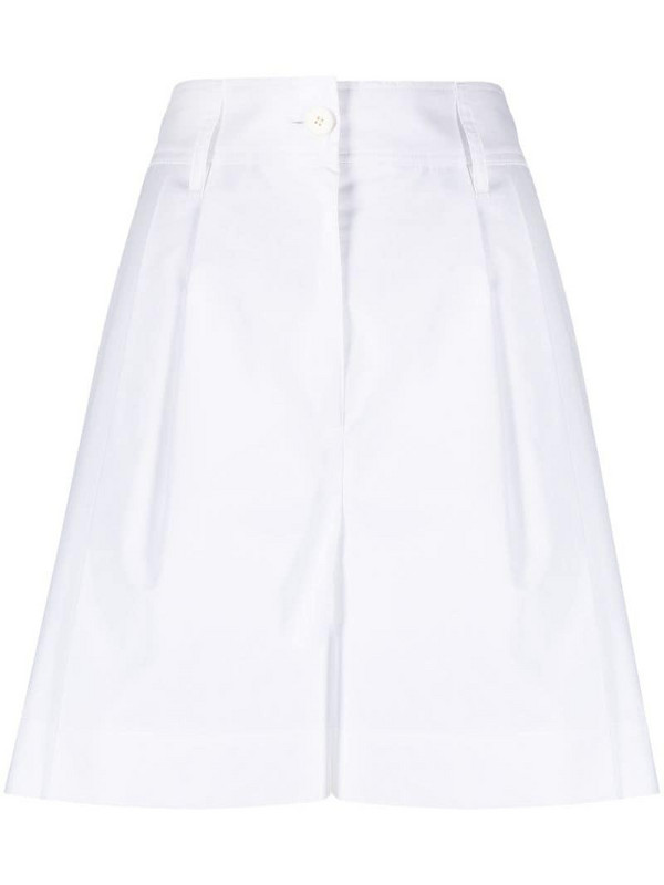 LANVIN high-waisted tailored trousers in white