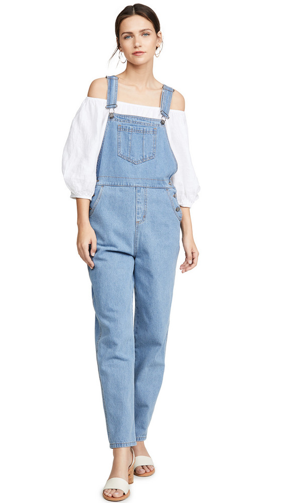 The Fifth Label Arthouse Overalls in blue