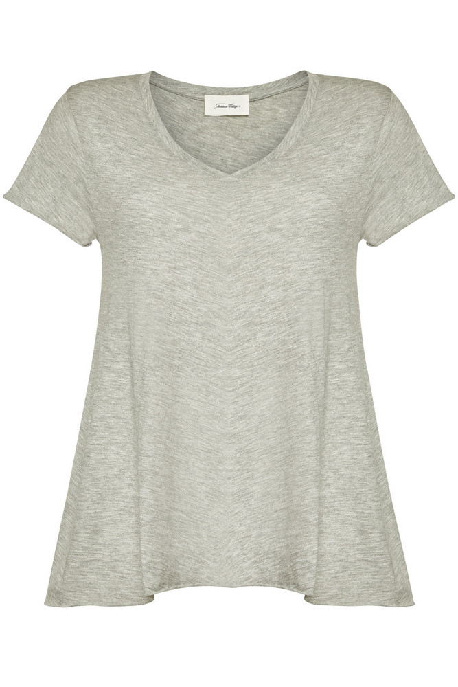 American Vintage T-Shirt with Cotton  in grey