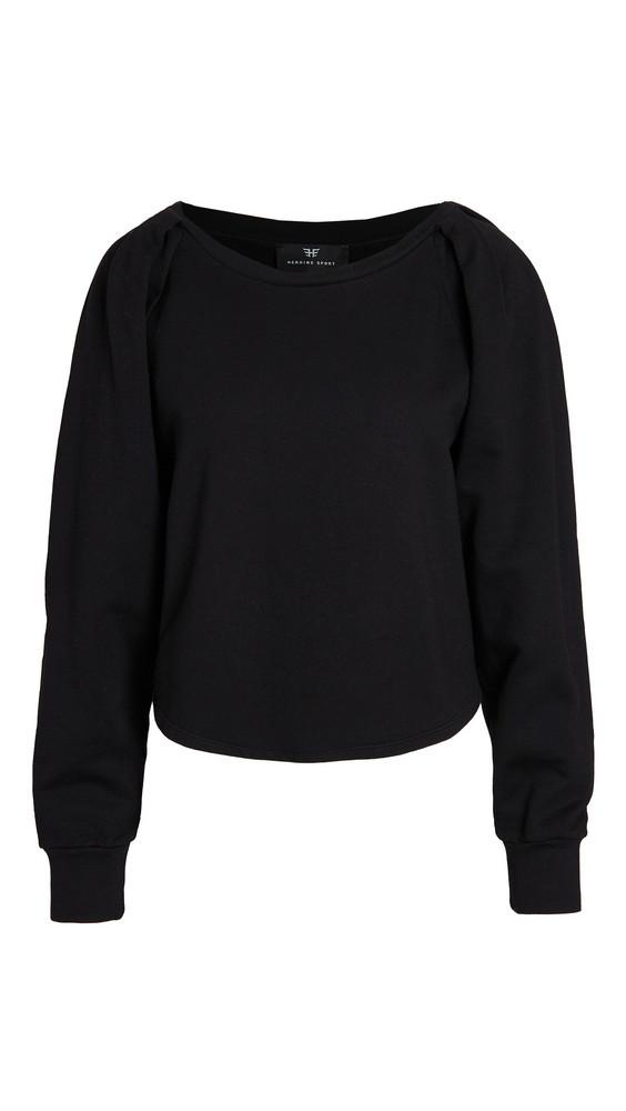 Heroine Sport Power Sweatshirt in black