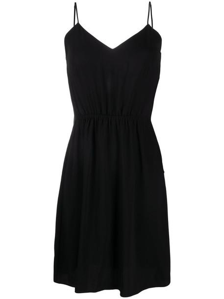 MM6 Maison Margiela sleeveless shift dress in black