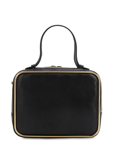 ALEXANDER WANG Large Halo Leather Satchel Bag in black