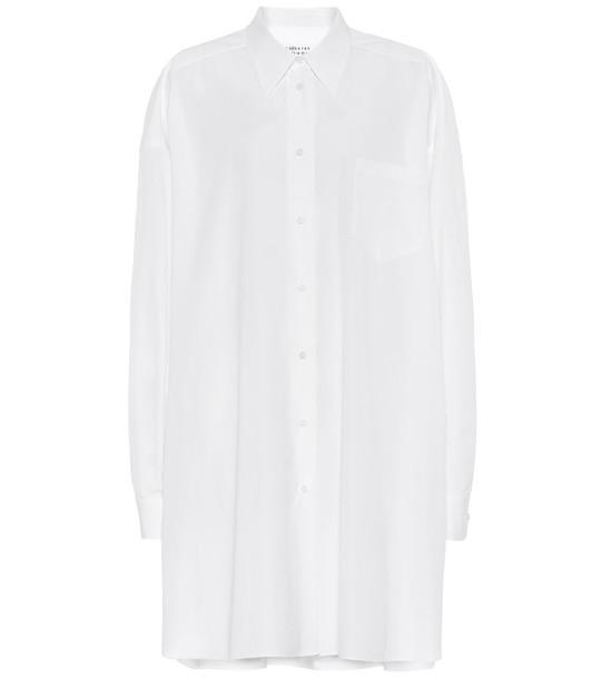 Maison Margiela Oversized shirt in white