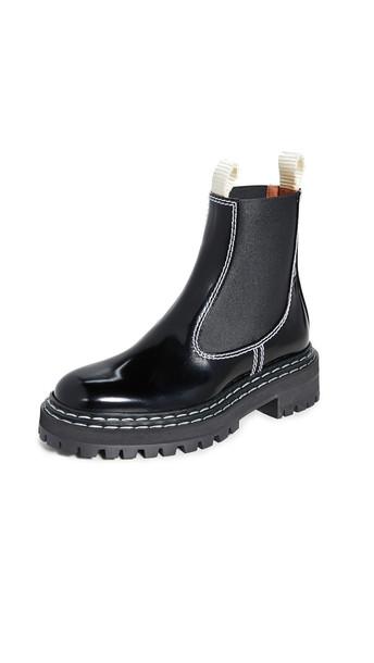 Proenza Schouler Stitch Boots in nero
