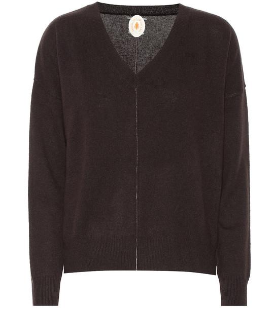 Jardin des Orangers Cashmere sweater in brown