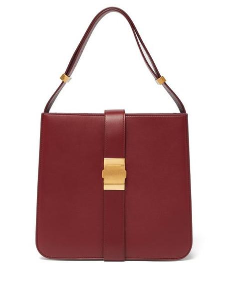 Bottega Veneta - Marie Nappa Leather Bag - Womens - Burgundy