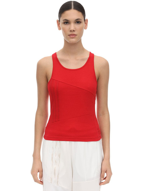 ADIDAS ORIGINALS Dc Tank Top in red