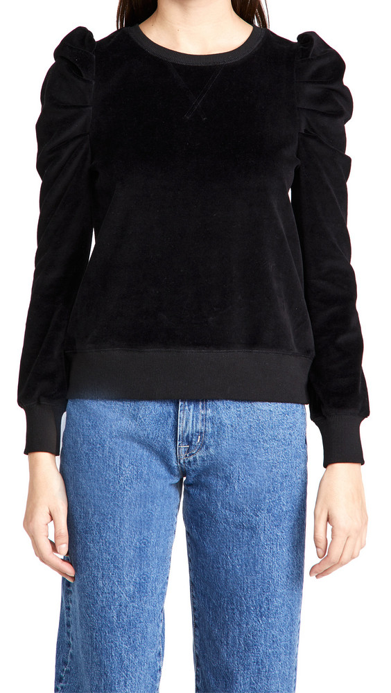 Rebecca Minkoff Janine Sweatshirt in black