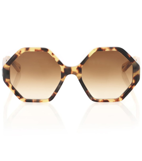 Chloé Willow sunglasses in brown