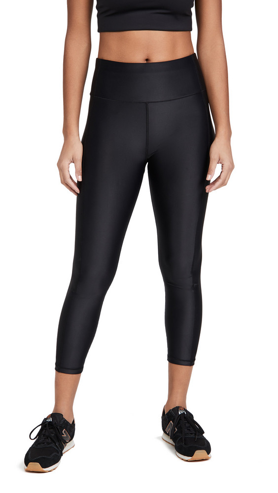 Sweaty Betty High Shine 7/8 Workout Leggings in black