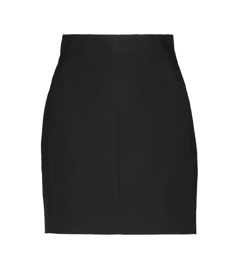 Nensi Dojaka High-rise miniskirt in black