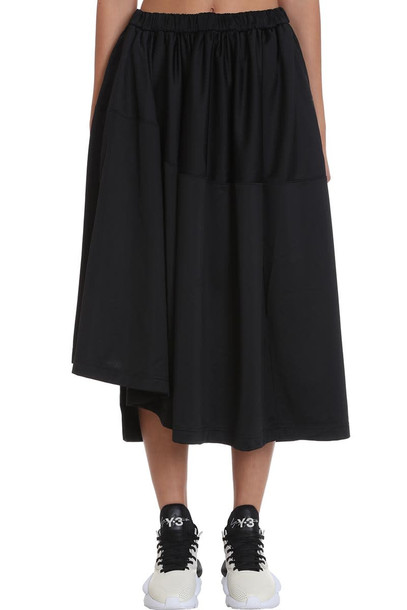 Y-3 Skirt In Black Polyester