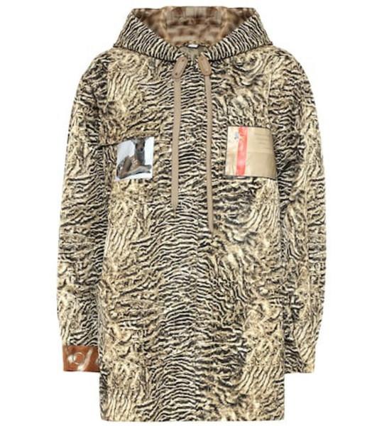 Burberry Printed nylon jacket