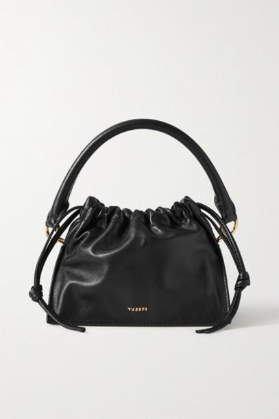 Yuzefi - Bom Mini Leather Tote - Black