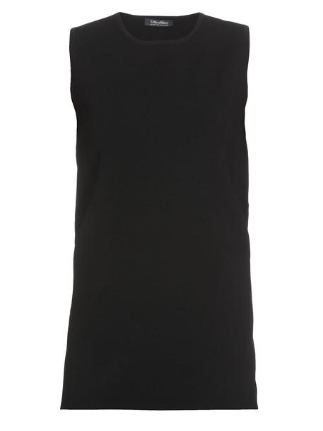 Max Mara Tantalo Top in black
