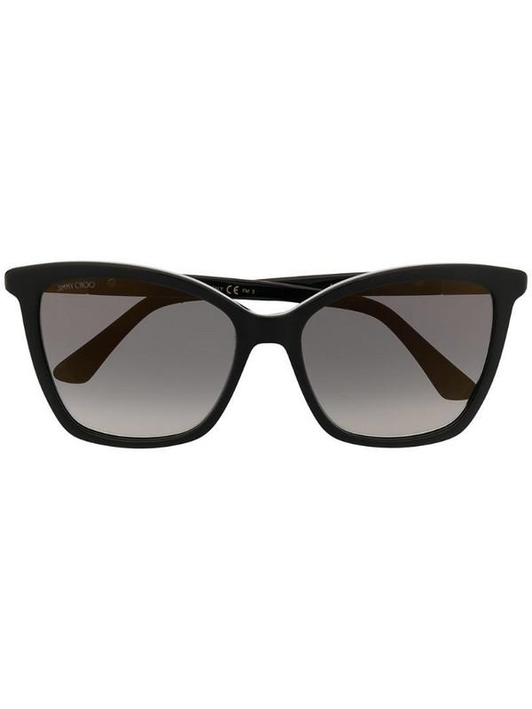 Jimmy Choo Eyewear Alis butterfly-frame sunglasses in black