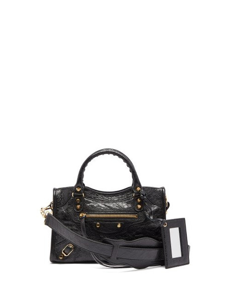 Balenciaga - Classic City Nano Leather Bag - Womens - Black