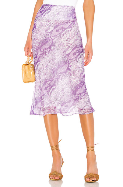The East Order X REVOLVE Midi Skirt in purple