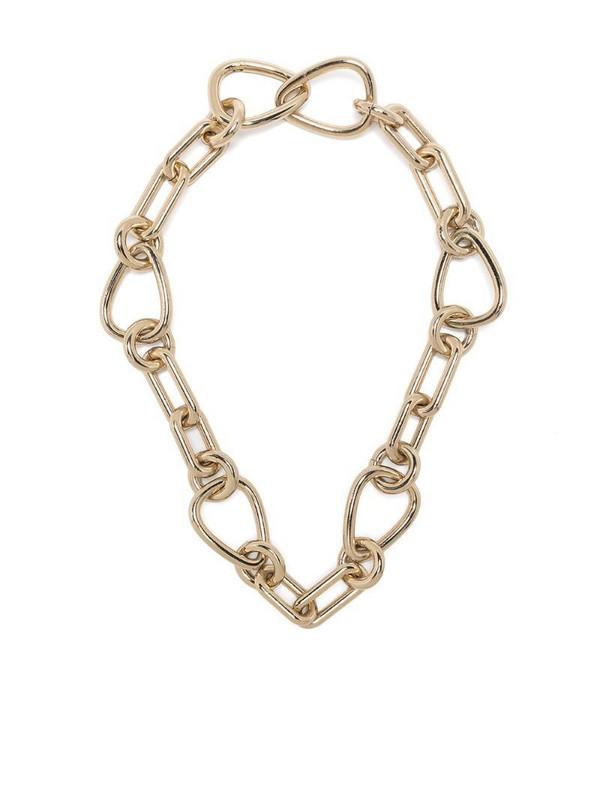 Gentry Portofino chunky chain necklace in gold