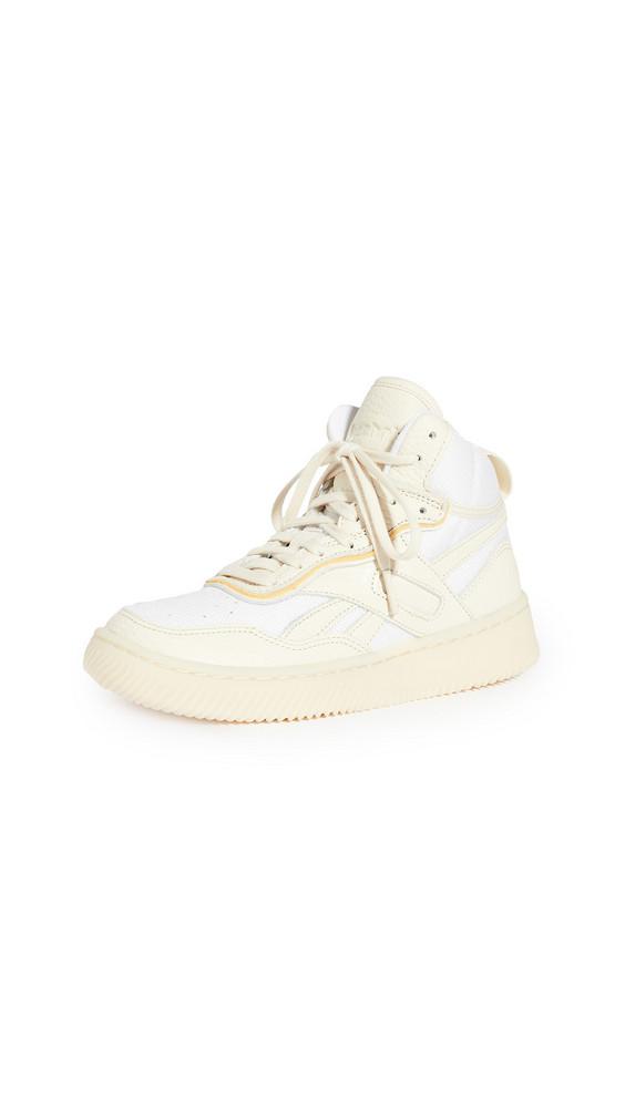 Reebok x Victoria Beckham Dual Court Mid II VB Sneakers in white