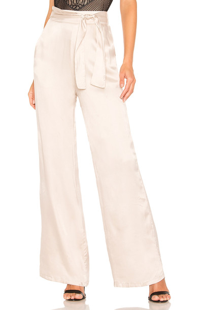 Lovers + Friends Ariana Pant in beige