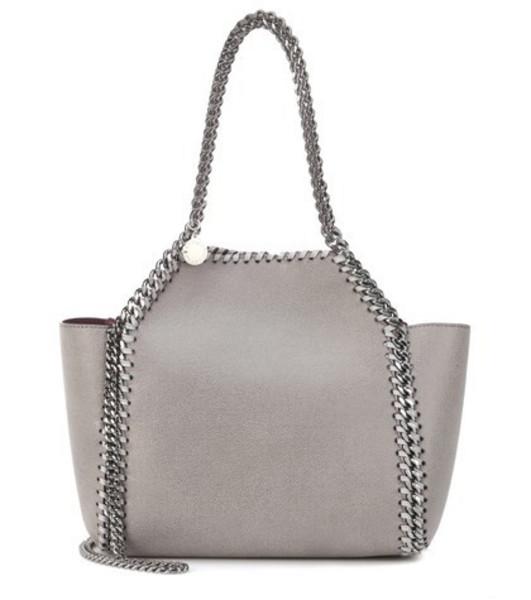 Stella McCartney Small Falabella reversible tote in grey