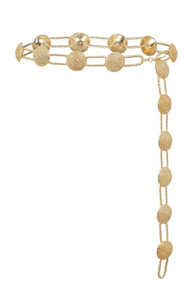 Raisa Vanessa Gold-Tone Embellished Belt