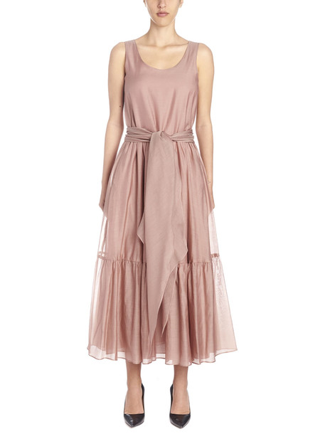 Max Mara Studio 'manche' Dress in pink
