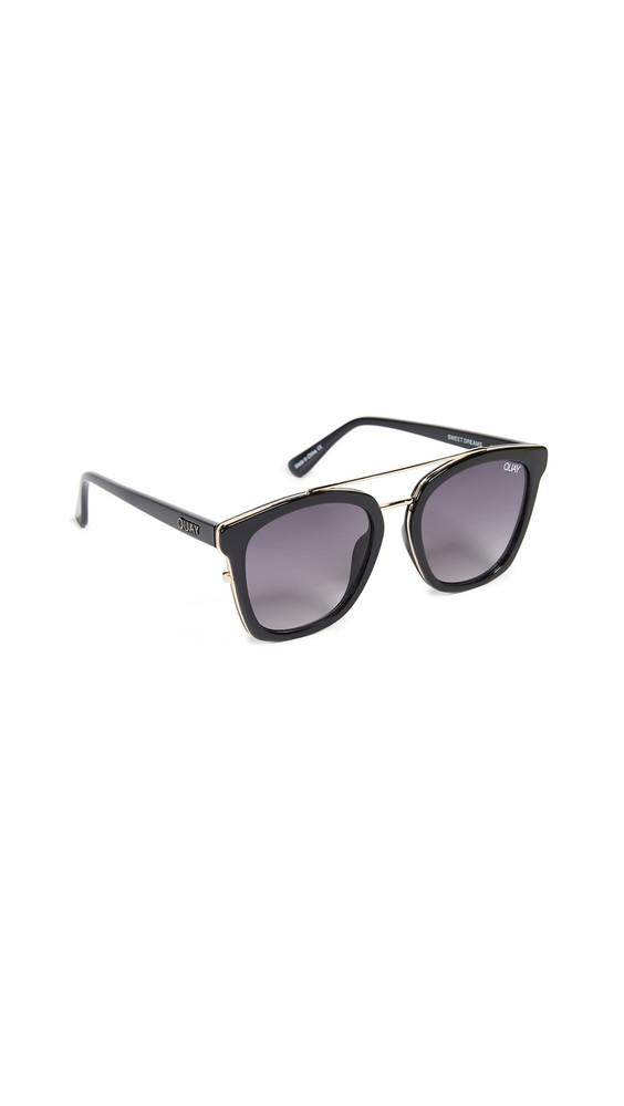 Quay Sweet Dreams Sunglasses in black
