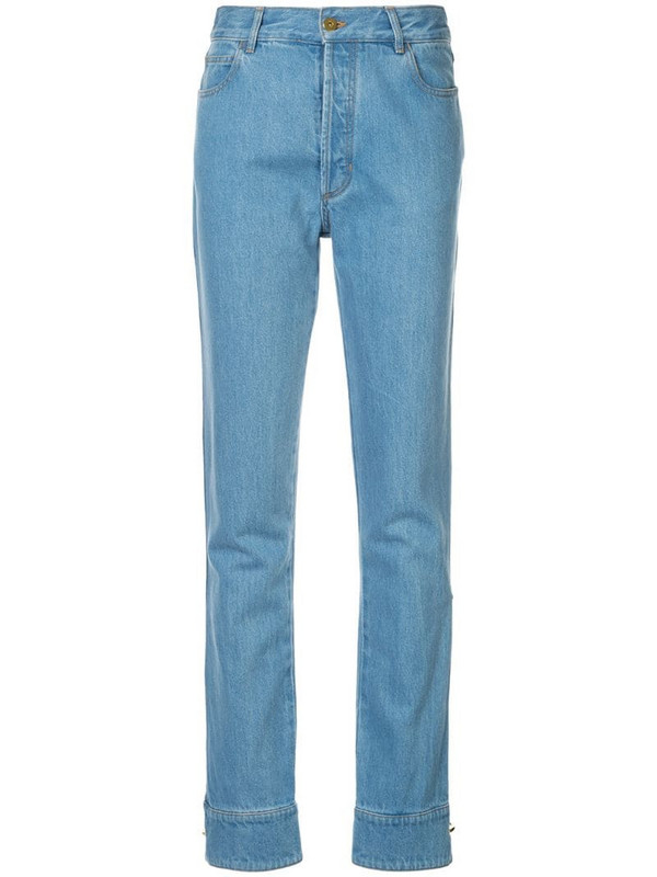 Marques'Almeida classic slim-fit jeans in blue