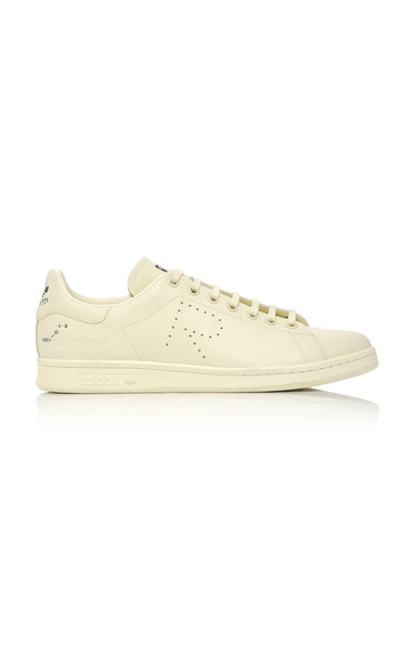 adidas by Raf Simons Unisex Stan Smith Leather Sneakers in neutral