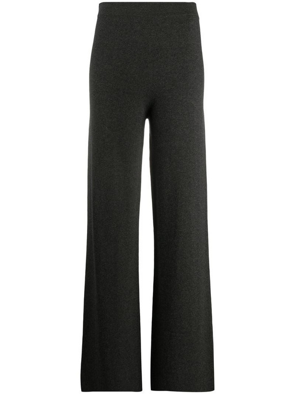 Gentry Portofino cashmere-blend knitted trousers in grey