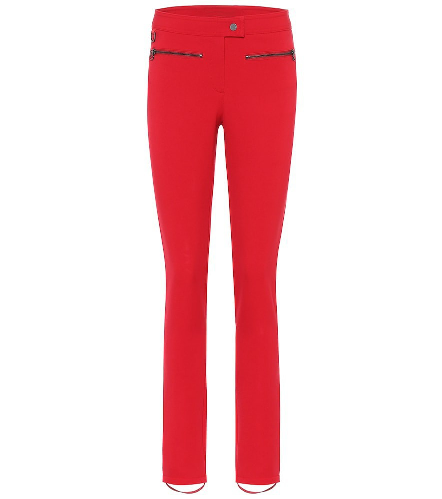 Erin Snow Jes high-rise ski pants in red