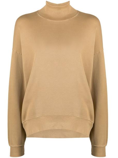 FRAME turtleneck basic sweatshirt
