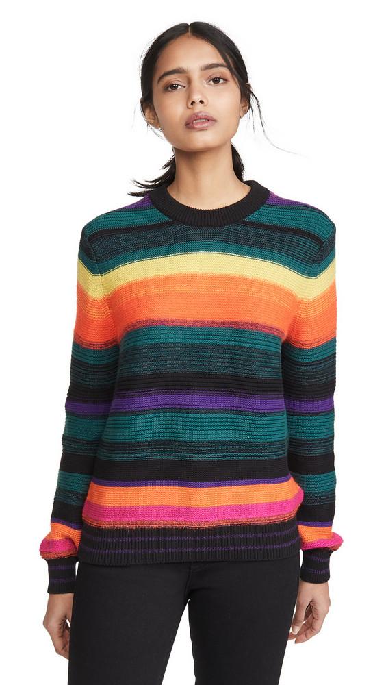 Paul Smith Multicolor Stripe Sweater in black