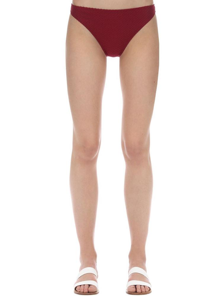 PEONY Sangria Bikini Bottoms in purple