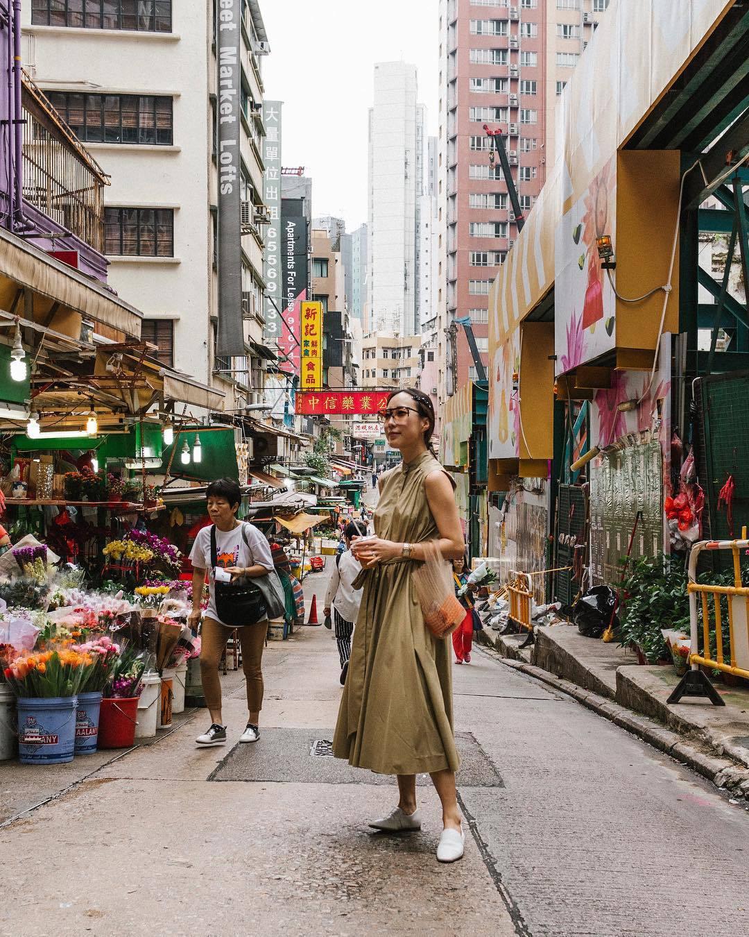 dress midi dress belted dress sleeveless dress loafers bag