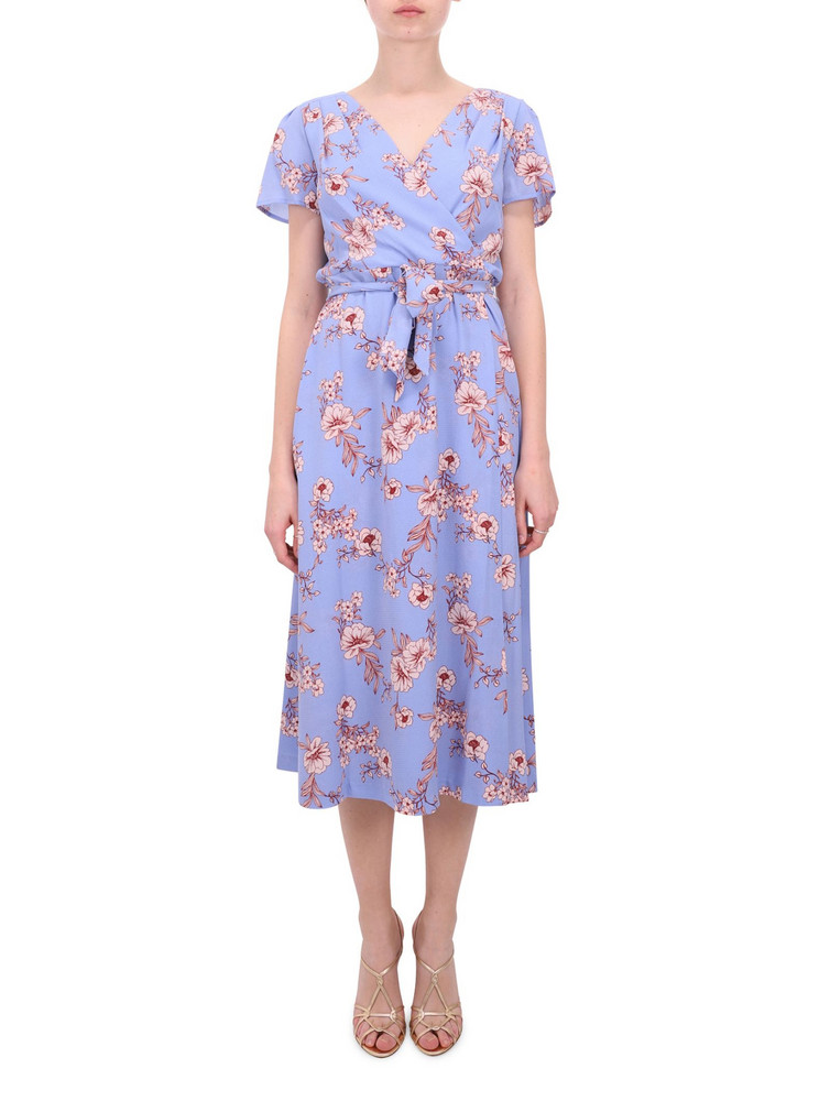 Lauren Ralph Lauren Floral Sarah Dress in blue